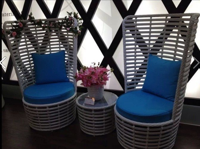 mobiliario jardim rattan : mobiliario jardim rattan:High Back Rattan Chairs