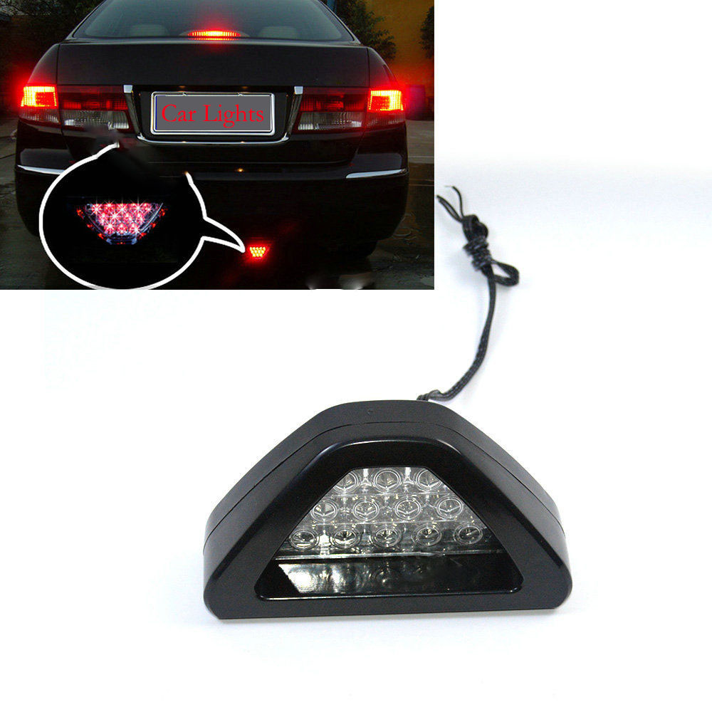 -35% OFF Brand New Universal Car ATV Automobile 12V 5W Red LED Stop Fog Tail Brake Lights Lamp LED-lys Diody Lampu LED-lampor(China (Mainland))
