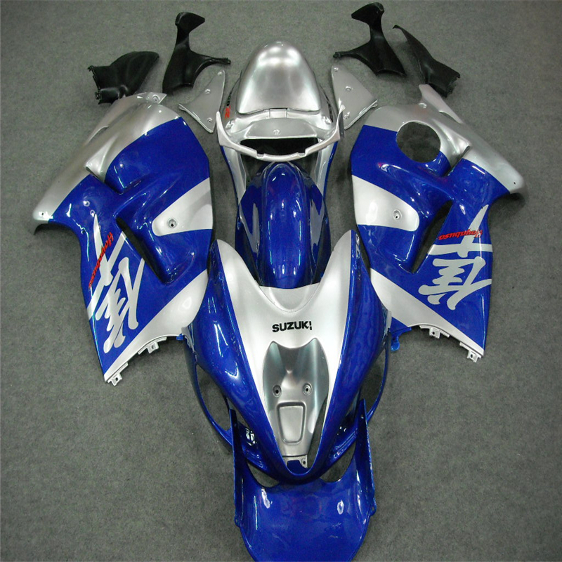 Aftermarket Painted Molds Fairing Kit Set For Suzuki Hayabusa GSX1300R GSX 1300R 1999-2007 Fairings Kits Motorcycle Parts Blue(China (Mainland))
