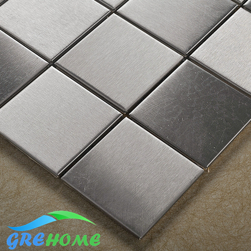 Stainless steel Mosaic Tiles for kitchen and bathroom(China (Mainland))