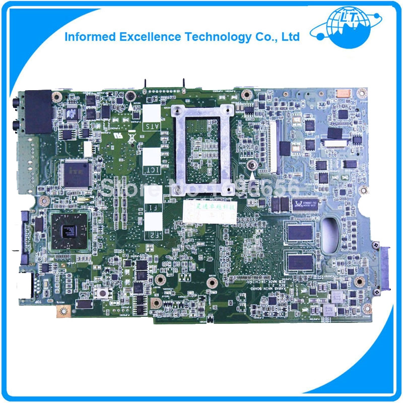 Фотография For ASUS K40AB prices Laptop Motherboard K50AF K50AD K40AF K40AD X8AAF X5DAF K50AB REV:2.1 AMD DDR2 Mainboard Fully Tested