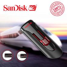 100% Original SanDisk CZ600 USB Flash Drive 32GB 64GB 16GB 128GB Super Speed USB 3.0 Memory Stick USB 3.0 Pen Drives 32G(China (Mainland))