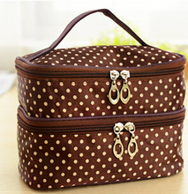 New Cute cosmetic bags Women Lady Travel Makeup bag make up bags box organizer pouch Clutch