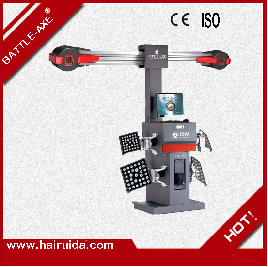 2014 cheap wheel alignment machine price Garage Service Station 3D-708X[clamp size 13-24] - Benele Car Equipment&Tools store