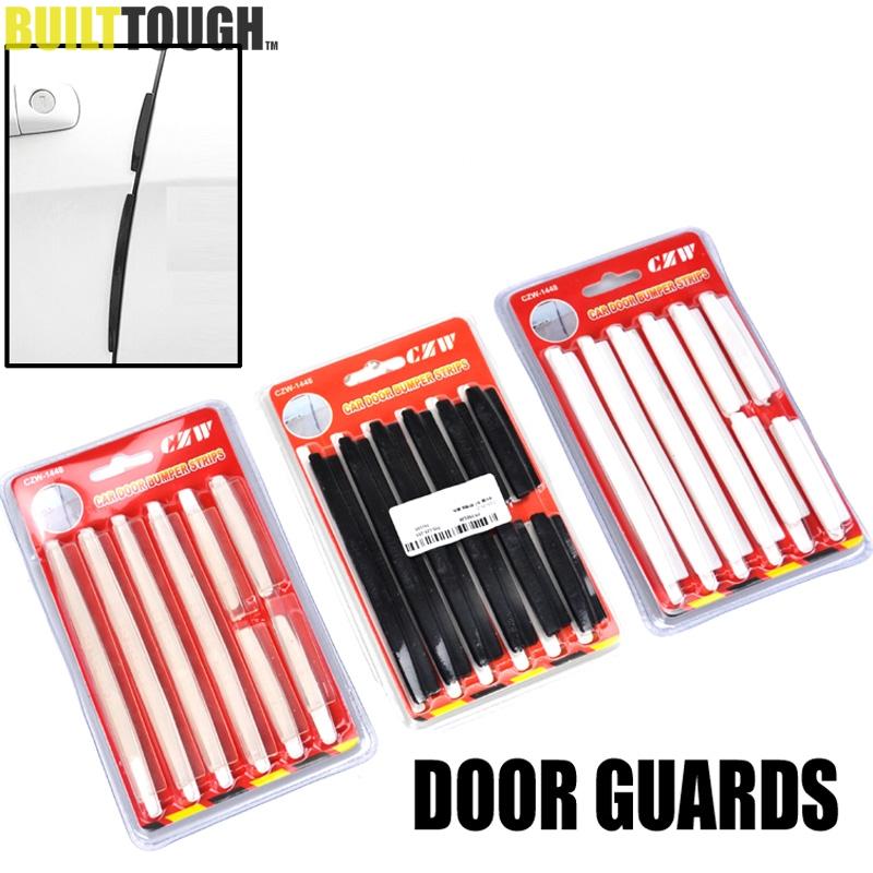 car suv side door edge protector protective strip scrape guard bumper guards handle cover 8pcs. Black Bedroom Furniture Sets. Home Design Ideas