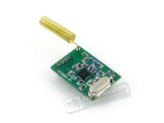 CC1101 RF Board 433M Wireless Data Transmission Evaluation Development Board Kit wiht SPI Interface