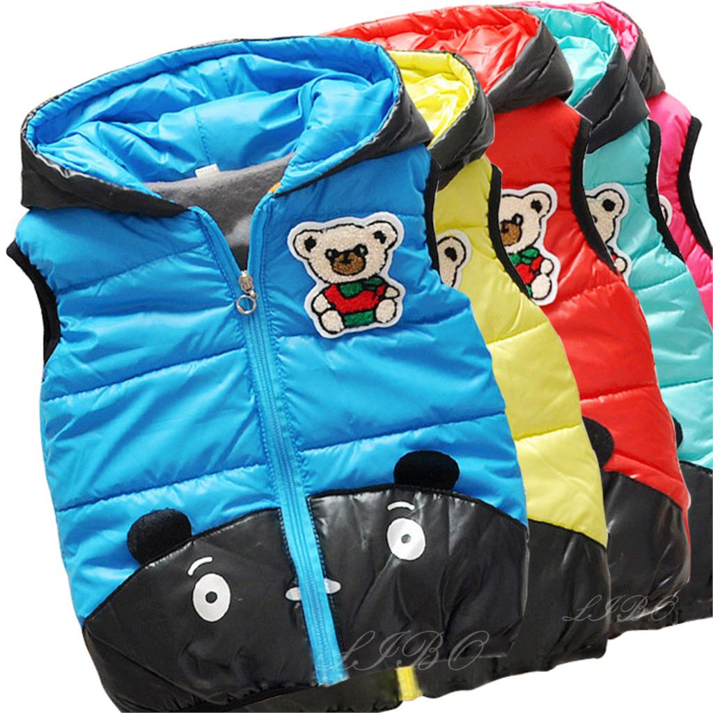 Children Warm parka clothing Outerwear Girls Parka Vest Princess Waistcoat Baby Kids Jacket Coat for Autumn Winter(China (Mainland))