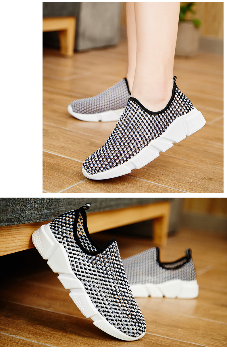 Socone Women Walking Shoes Breathable Air Mesh Shoes Lightweight LOVER Platform Woman Healthy Fitness Swing Sport Sneakers (10)