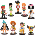 2014 new 9pcs 1lot High quality One Piece one piece figure action figures Christmas gifts OP006