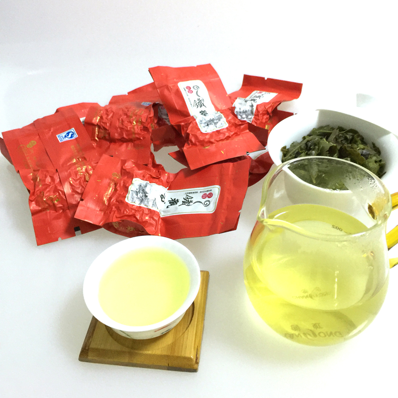 Chinese 8g oolong tea tieguanyin original green tea ti kuan yin China food health care tea oolong Slimming Tea tiguanin(China (Mainland))