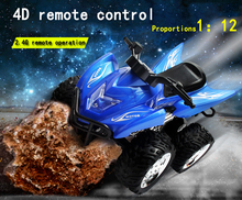 TTLIFE  2016 4D RC Remote Control Motorcycle Electronic Toy Cars Rechargeable Drift Dumpers Promotional Gifts For Children(China (Mainland))