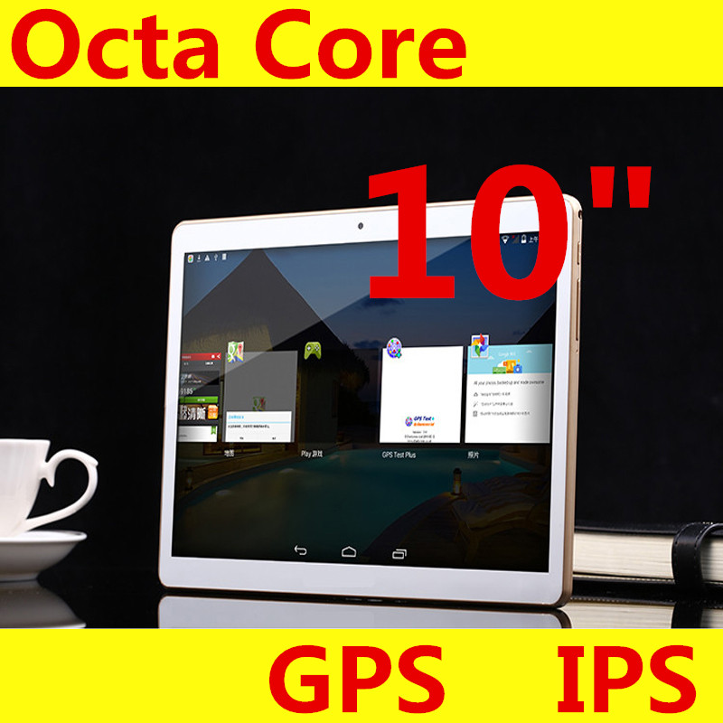 """10"""" tablet IPS Screen 1280*800 Octa Core MTK6592 3G 4G Phone Call 4GB/ 128GB Dual SIM 5.0MP Android 5.1 Bluetooth GPS Tablet PC(China (Mainland))"""