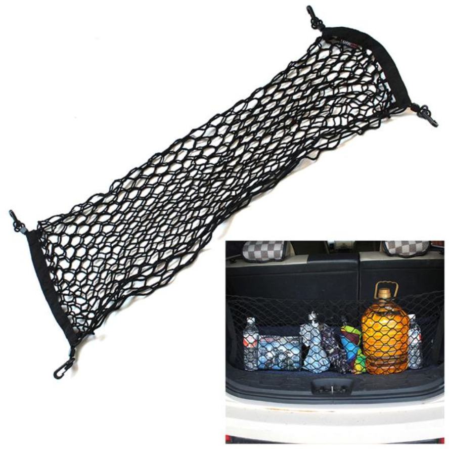 New Arrival Flexible Nylon Car Rear Cargo Trunk Storage Organizer Net Envelop Apl7(China (Mainland))