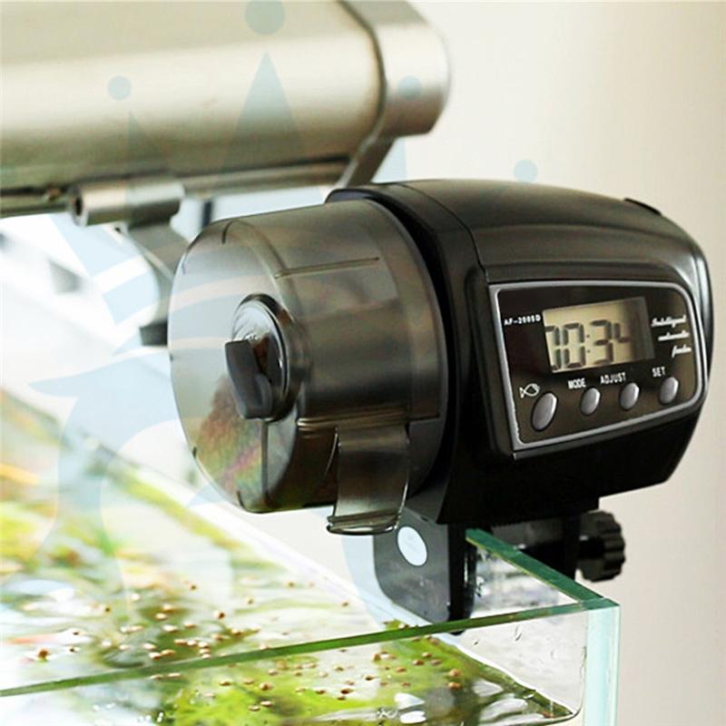 Digital LCD Automatic Aquarium Tank Automatic Fish Feeder Timer Food Feeding Electronic Fish Food Feeder Timer Fish Supplies(China (Mainland))