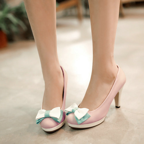 Sweet hook&amp;loop big size pumps hot sale special offer mixed women basic high heels shoesZ1JD-2-12<br><br>Aliexpress