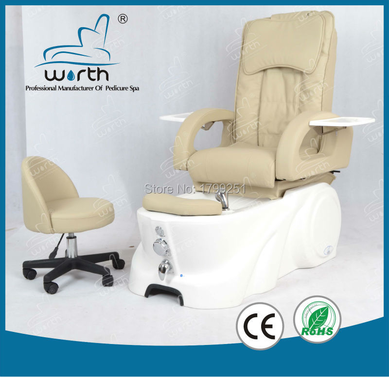 low price white foot basin electric massage chair pedicure foot bath(China (Mainland))