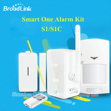 2016 New Broadlink S1 S1C SmartOne Alarm Security Sensor Kit  Motion Smart Home Automation System Remote Control by IOS Android