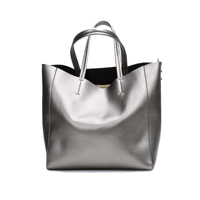Фотография Famous Brand Fashion Women Bag 2015 New Arrival Wiliamganu High Quality Genuine Leather Women Totes Handbags Women Shoulder Bags