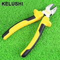 KELUSHI Optical Fiber tool Diagonal Beading Cable Wire Side Cutter Cutting Nippers Pliers