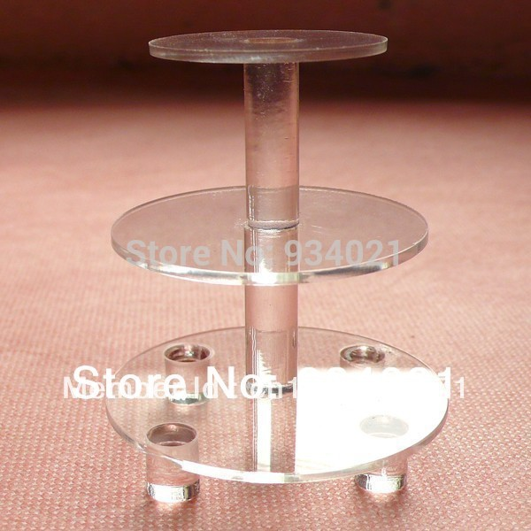 3 Layer Acrylic Cake Stand Display For Cup Cake(China (Mainland))