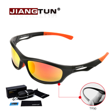 JIANGTUN Flexible TR90 Sport Sunglasses Men Polarized Brand Designer UV400 Protection Sun Glasses Outdoor Cool Goggles Oculos(China (Mainland))
