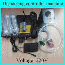 Precise dispensing drip liquid machine dispenser for greases solder paste UV glue epoxy silicone sealant A B glue voltage 220V(China (Mainland))