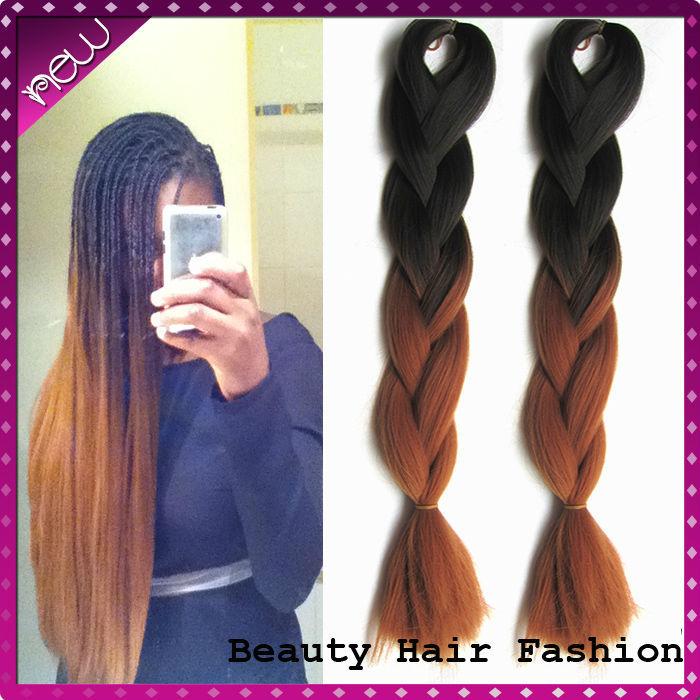 Cheap Fiber Hair Kanekalon Braiding Hair Xpression 26 inch ...