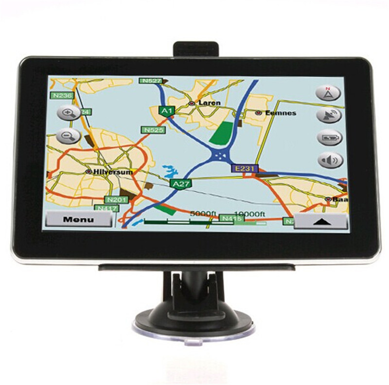 2015 New Style 7.0 Inch  256MB 8GB GPS Car Navigator GPS Navitaion 800MHZFm Transimitter Window CE 6.0 Multi-Language Free  <br><br>Aliexpress