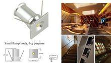 Recién llegado de Super Mini 1 W llevó el proyector pequeña lámpara IP65 de interior focos de iluminación venta(China (Mainland))