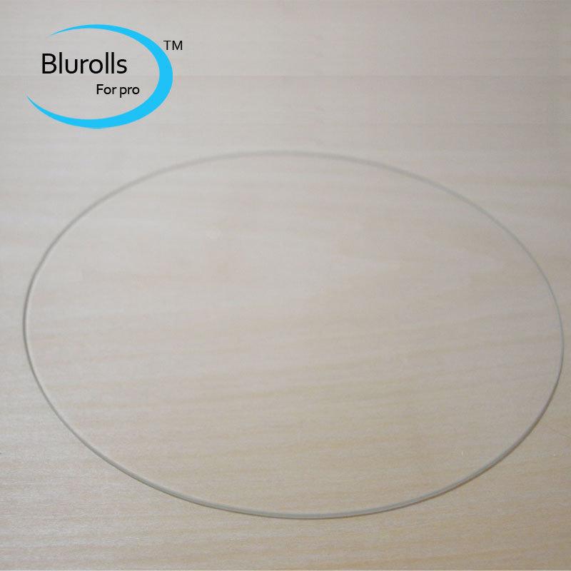 3d printer accessory rostock delta kossel orion borosilicate glass plate round 220mm 3mm thick borosilicate glass