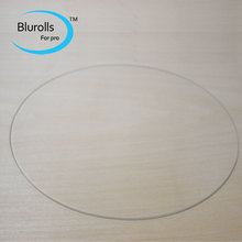 3d printer accessory rostock delta kossel orion borosilicate glass plate round 220mm 3mm thick borosilicate glass top quality