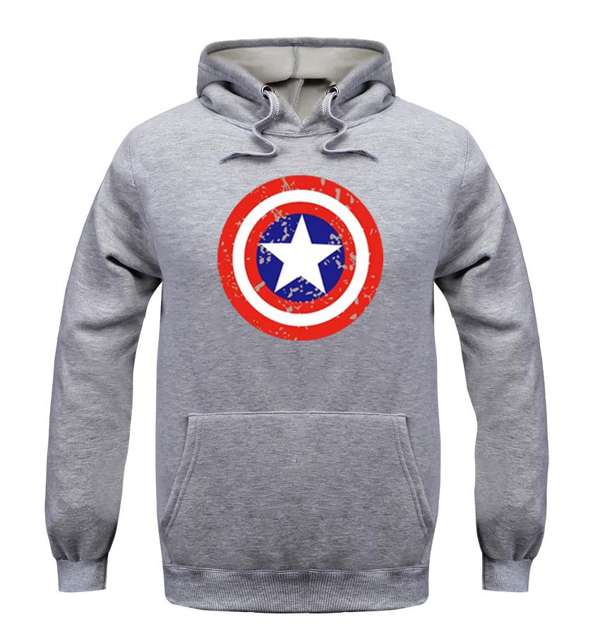 2016 New Women/men Captain America hoodie The Avengers 2 sweatshirts Hero Captain America Hoodie Men Cosplay Sweatshirts(China (Mainland))