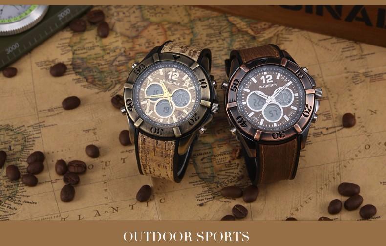 Мужская Повседневная Спортивные Кварцевые Часы Мужские Часы Лучший Бренд Класса Люкс Старинные Часы 2016 Кожа Наручные Часы Relógio Masculino