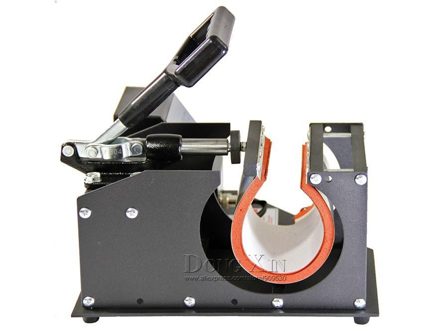 Купить Бесплатная доставка 4in1 передачи тепла Кружки машина дисплей теплопередачи машины для кружка машина давления жары DX-024 110 В/220 В