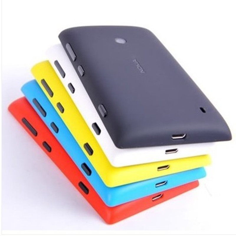 Free Shipping Original Housing Replacement Battery Back Cover Case for Nokia Lumia 520(China (Mainland))