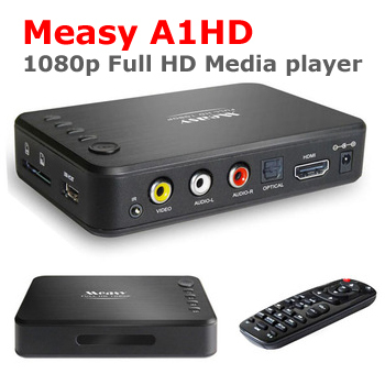 A1HD Full HD Network hdmi android Media Player Boxchip F10 Full 1080P MKV H.264 HDMI USB host SD card reader mini MKV player(China (Mainland))