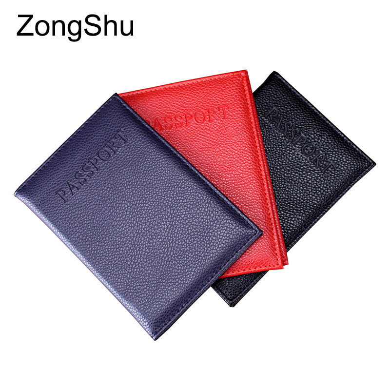 2017 new hot men passport holder fashion brand quality PU women travel passport card case covers couple models passport wallets(China (Mainland))