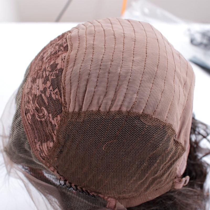 Топ 7А класс лучший полной плотности девственных BrazilianThick человеческих волос парик полный парик шнурка дешевые человеческих волос парик фронта шнурка Бесклеевой парик