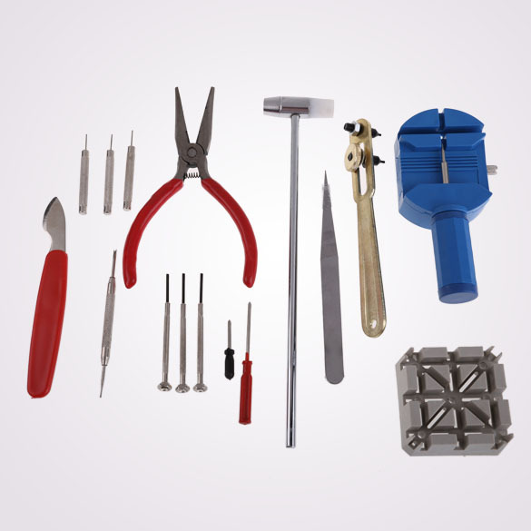 High Quality New 16PC Watch Clock Hours Opener Tool Kit Repair Change Cell Pin Remover NG4S(China (Mainland))