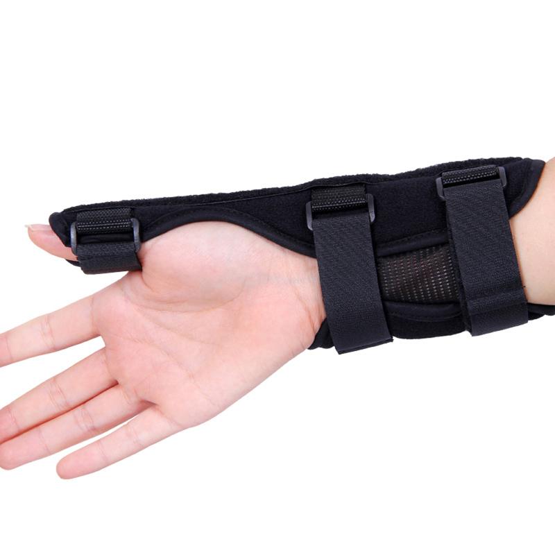 Free Shipping sports safety Wrist Support Hand Brace Band Carpal Tunnel Splint Arthritis Sprains UsefulH1E1(China (Mainland))