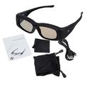 Top Deals New Super Universal 3D Active Shutter Glasses IR Bluetooth For Panasonic Sony Sharp Samsung