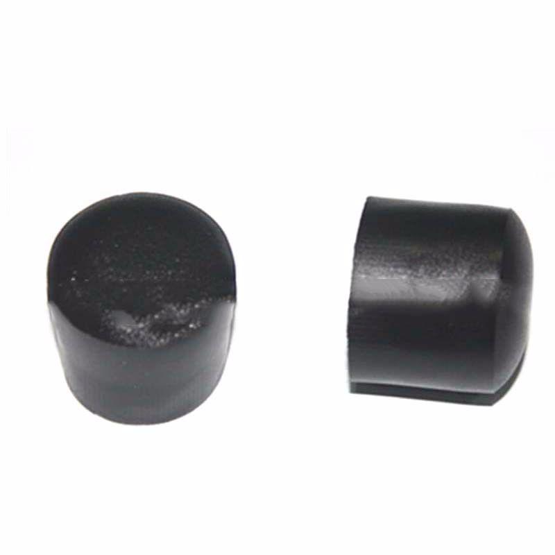 Hot  Table Feet Protector Furniture Black PVC Plastic Chair Leg Pad Tip Covers 16mm