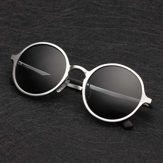 Класс Марка солнцезащитные очки для мужчины магния и Алюминия Поляризованный Ретро ...