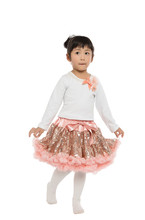 Girls Set Tutu Dress Sets Clothing cotton top + sequined skirts suit baby girls clothing sets clothes - Yiwu Kapu Art & Craft Firm store