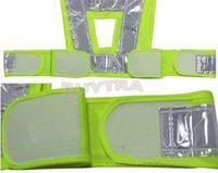 новой безопасности высокой видимости Светоотражающие ленты статьи неоновый Лайм желтый светоотражающий жилет