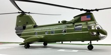 """1:72 TRUMPETER U.S. Navy CH-64F """"Sea Knight"""" transport helicopter model 37004 Static collection model"""