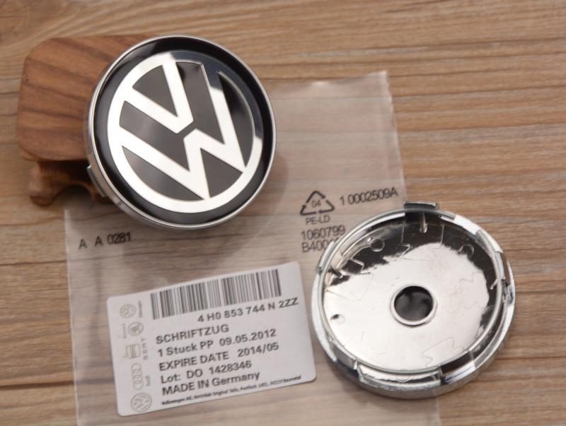 Free shipping 60mm Black 4pcs/lot VW car Wheel Center Hub Cap and Wheel Dust-proof Badge emblem covers<br><br>Aliexpress