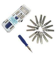 16 1 herramientas Precision Tool Set destornillador para el iPhone 5S T6 T5