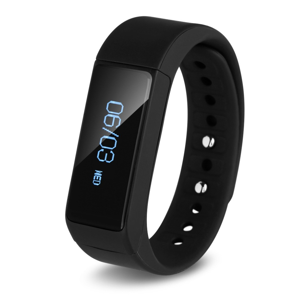 Excelvan I5 Smart Bracelet Bluetooth 4 0 Fitness Tracker Calorie Health Wristband Sleep Monitor Call Reminder