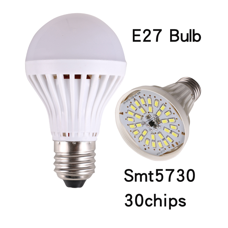 E27 E14 LED lamps Bulb 5 9 13 17 20 23 30 40 50chips SMT5730 AC220V 230V 240V 30w 20w 18w 25w 15w 12w 9w led lights - luxstar store